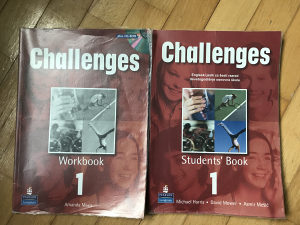 Challenges 1 za šesti razred osnovne komplet