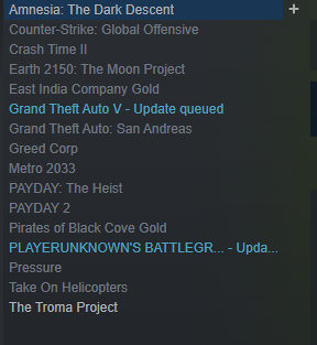 GTA V, PAYDAY2, Metro 2033 Steam Account