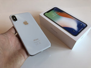 Iphone X 64GB Silver | TOP STANJE |