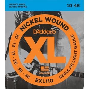 Žice za električnu gitaru Daddario EXL110 10-46