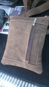 Torbica/torba muska kozna