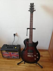 Elektricna gitara i pojacalo