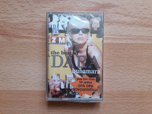 AUDIO KASETA-DARA BUBAMARA-THE BEST OF