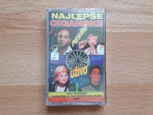AUDIO KASETA-NAJLEPSE CIGANSKE PESME