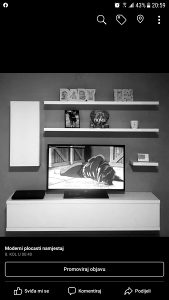 TV police, komode