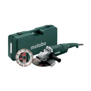 Metabo ugaona kutna brusilica WX 2200-230 sa koferom
