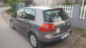 Volkswagen Golf 5 SDI registrovan