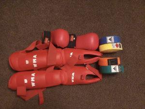 Oprema za karate WMA---POJASEVI!