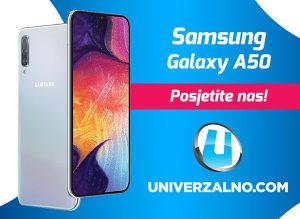 Samsung Galaxy A50 64GB (4GB RAM) i microSD 64GB