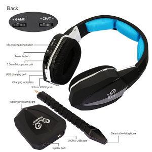 HUHD HW-398M 2.4Ghz Wireless Optical Gaming Headset