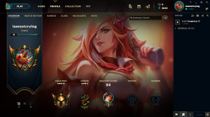 Legue of Legends Gold 4 Eune Acc