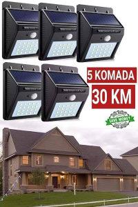 Pet solarnih reflektora