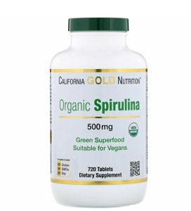 Spirulina Organic / 500mg / 720 tableta