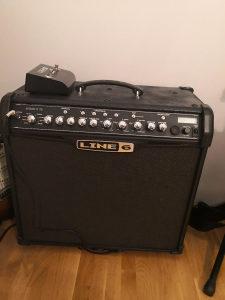 Gitara Washburn WI200Pro+pojacalo Line 6 Spider IV 75