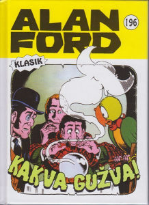 Alan Ford 196 HC / Strip Agent
