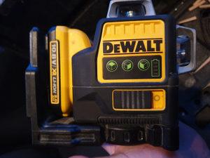 Dewalt laser
