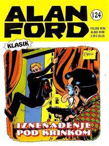 Alan Ford 124 HC / Strip Agent