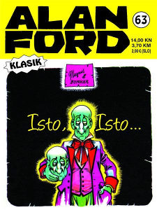 Alan Ford 63 HC / Strip Agent