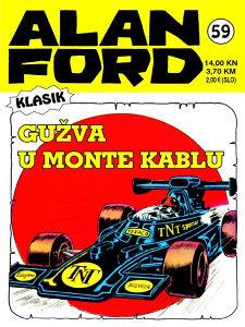 Alan Ford 59 HC / Strip Agent
