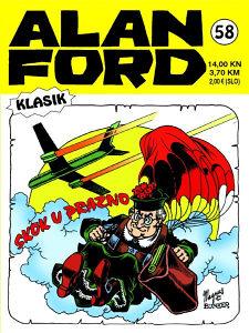 Alan Ford 58 HC / Strip Agent