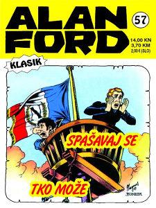 Alan Ford 57 HC / Strip Agent