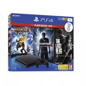 Playstation 4 1TB Ratchet Last of US Uncharted(10141)