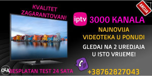 IPTV 5000 KANALA, IPTV RESELLER/SMART TV/MAG/ANDROID/PC