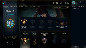 League of Legends account - Gold 1 - LoL Acc - EUNE