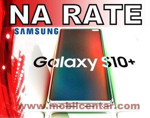 Samsung Galaxy S10 plus  na rate