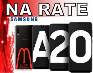 Samsung Galaxy A20 na rate  41 KM