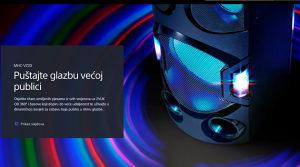Sony BLUETOOTH MHC-V72D 550W Zvučnik DVD MHCV72D.CEL