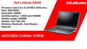 Dell Latitude E6530 Core i5 3rd gen.