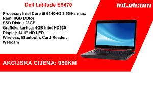 Dell Latitude E5470 Core i5 6th gen. Quad Core SSD