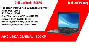 Dell Latitude E5570 Core i5 6th gen. SSD