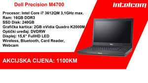 Dell Precision M4700 Workstation Core i7 Quad Core