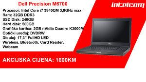 Dell Precision M6700 Core i7 3rd gen. Quad Core