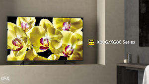 """Sony 4K ANDROID 65"""" UltraHD TV 65XG8096 Smart XG8096"""