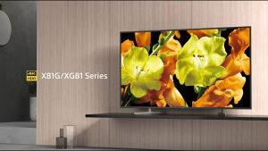 "Sony ANDROID 4K 65"" TV KD65XG8196BAEP UltraHD Smart EU"