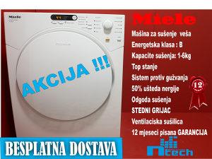 Sušilica Miele Ventilaciska - Bijela Tehnika