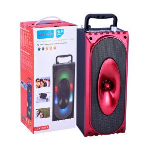 Karaoke bluetooth zvucnik (crveni) 10W + mikrofon