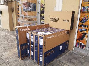 "Samsung 4K 55"" UltraHD TV 55NU7093 Smart UHD WiFi LED"
