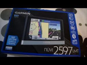 Garmin nüvi 2597 LMT, Europa, Life time update, BT, 5""