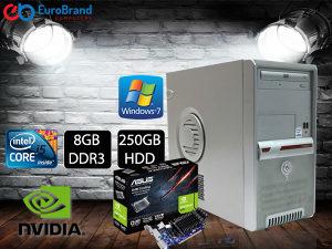 RAČUNAR i5-750 8GB DDR3 Nvidia GT210 1GB