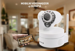 OLYMPIA bežični video nadzor putem mobitela