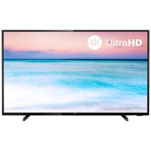 "Philips Smart LED TV 58"", 4K, Quad CPU, DVB-T2/S2/C"