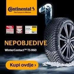225 45 17 zimske gume Continental dot 2019