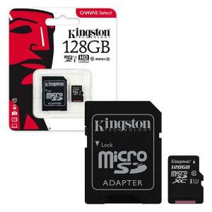 KINGSTON MICRO SD 128GB CLASS 10 (024363)