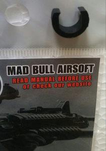 Airsoft C Clip Fiksator cijevi za HopUp Madbull