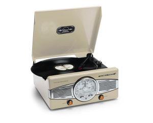 Gramofon Turntable Phono Retro TT-28C Radio FM/AM