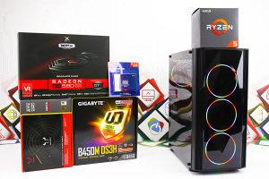 Gaming PC Prism; Ryzen 5 2600x; RX 580; SSD; DDR4